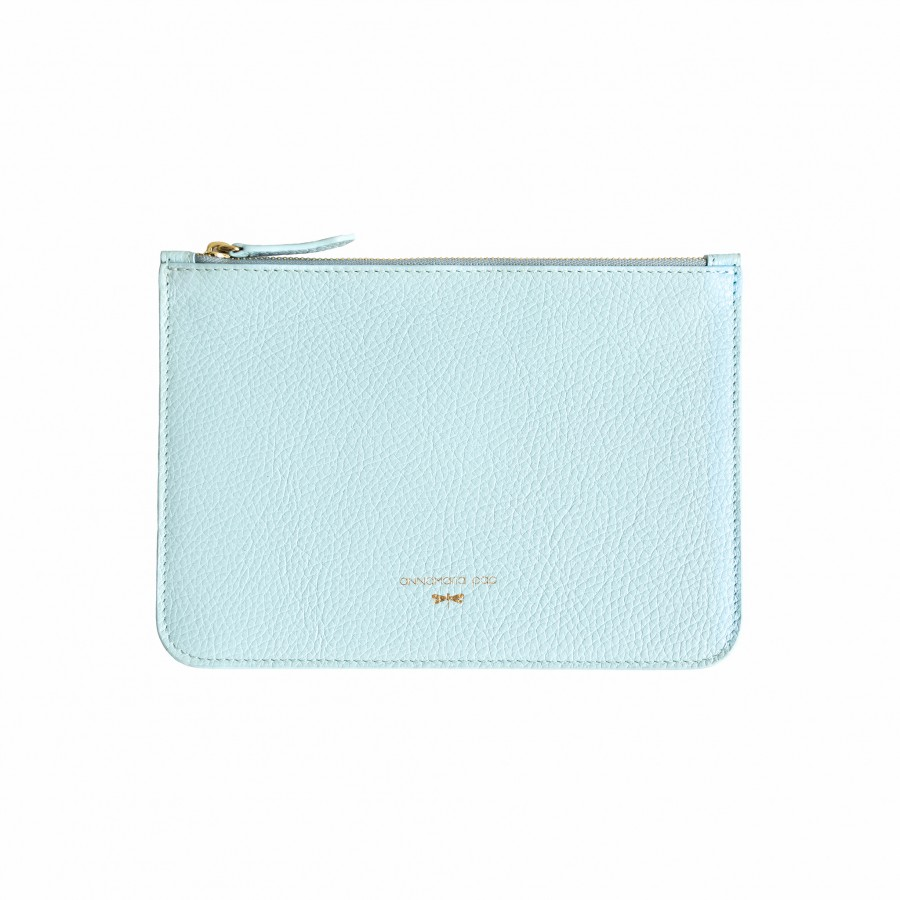 ANNE Ocean leather pouch