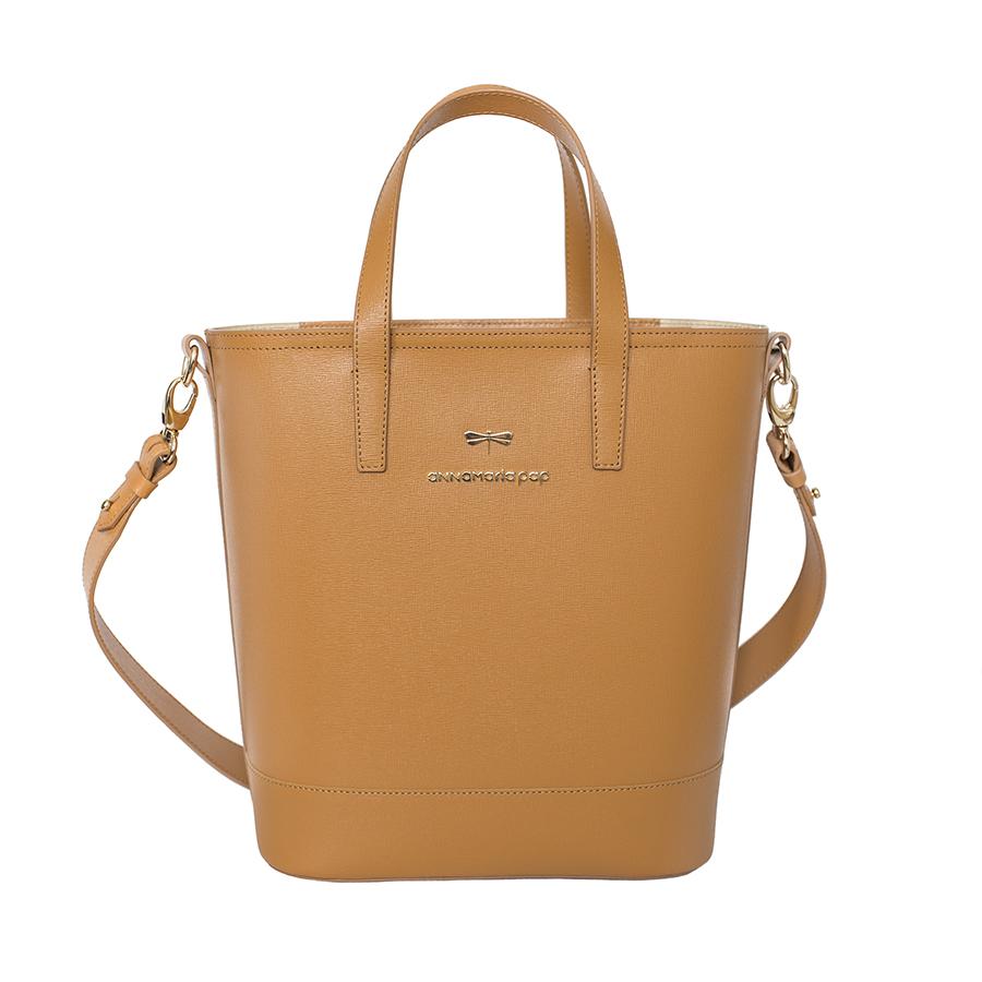 PENNY Cognac handbag