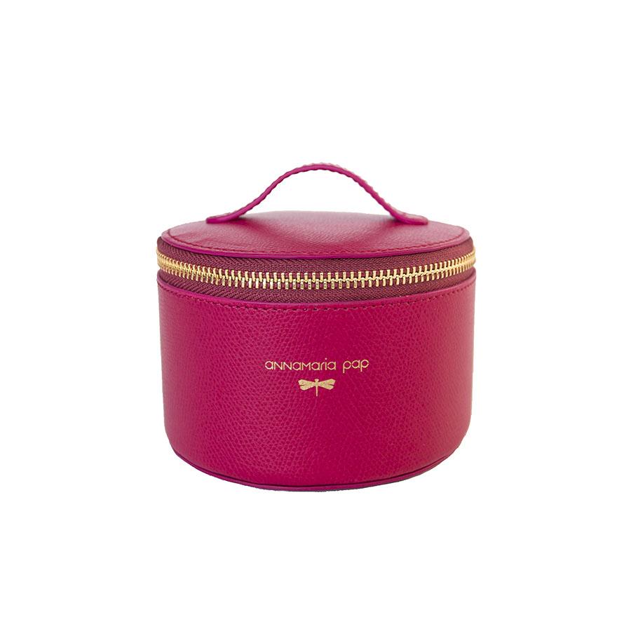 ROSE Raspberry essential oil / jewellery holder bag
