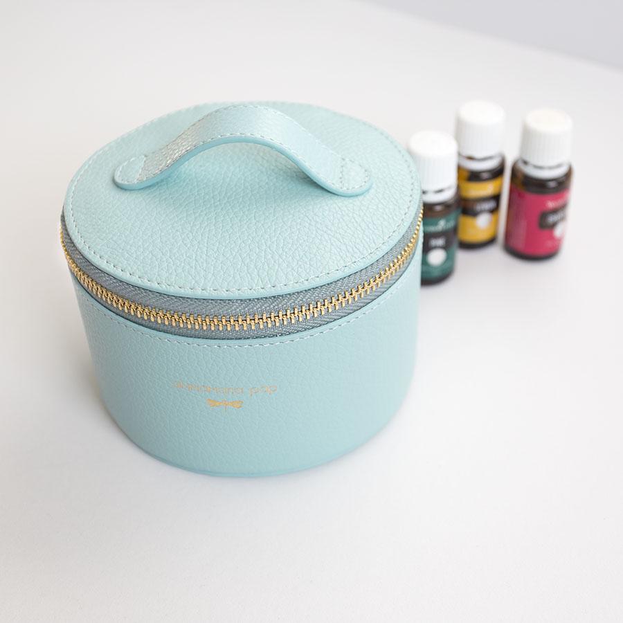 ROSE Ocean essential oil / jewellery holder bag
