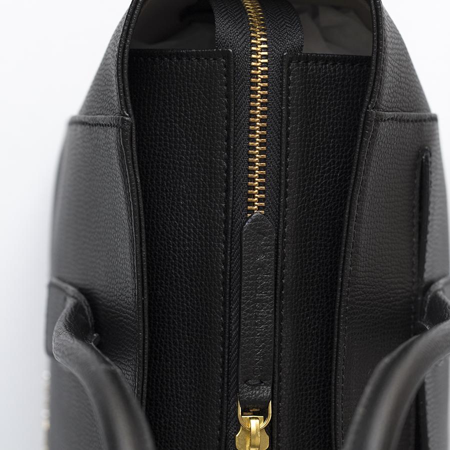 BEVERLY Black leather handbag