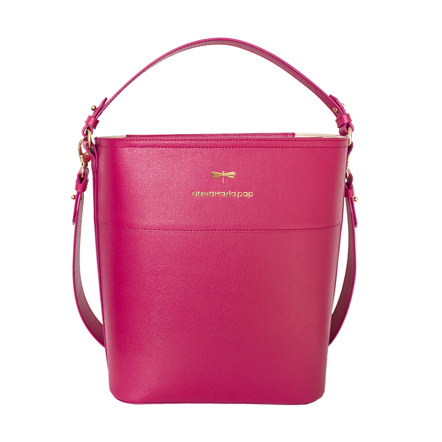 CARLY Raspberry handbag