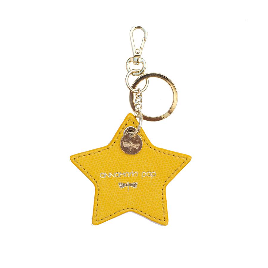 STAR Sunshine leather charm