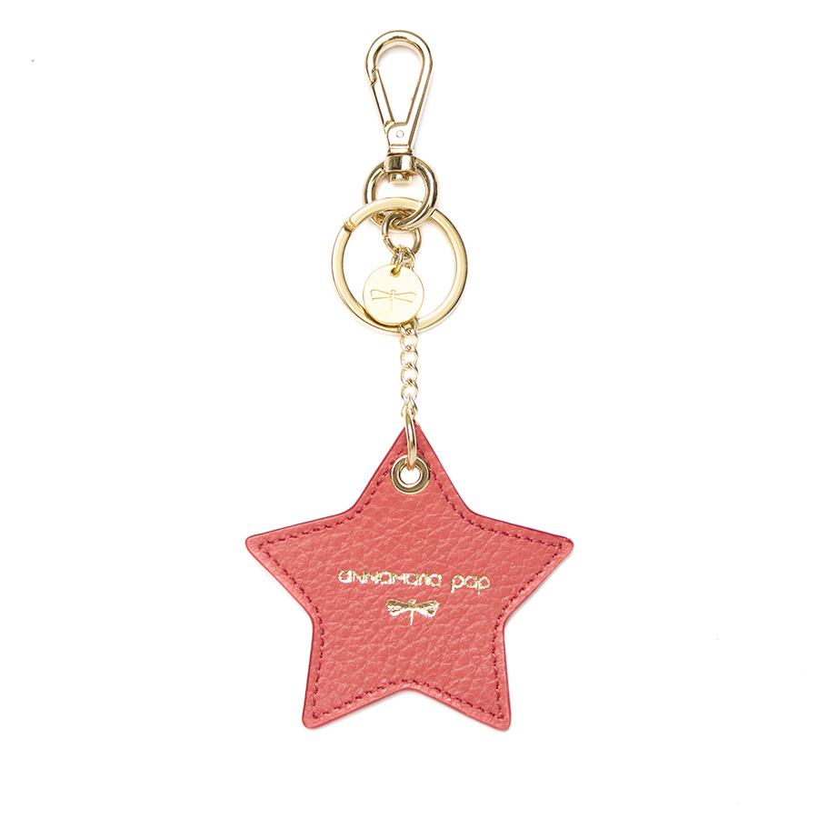 STAR Korall bőr charm
