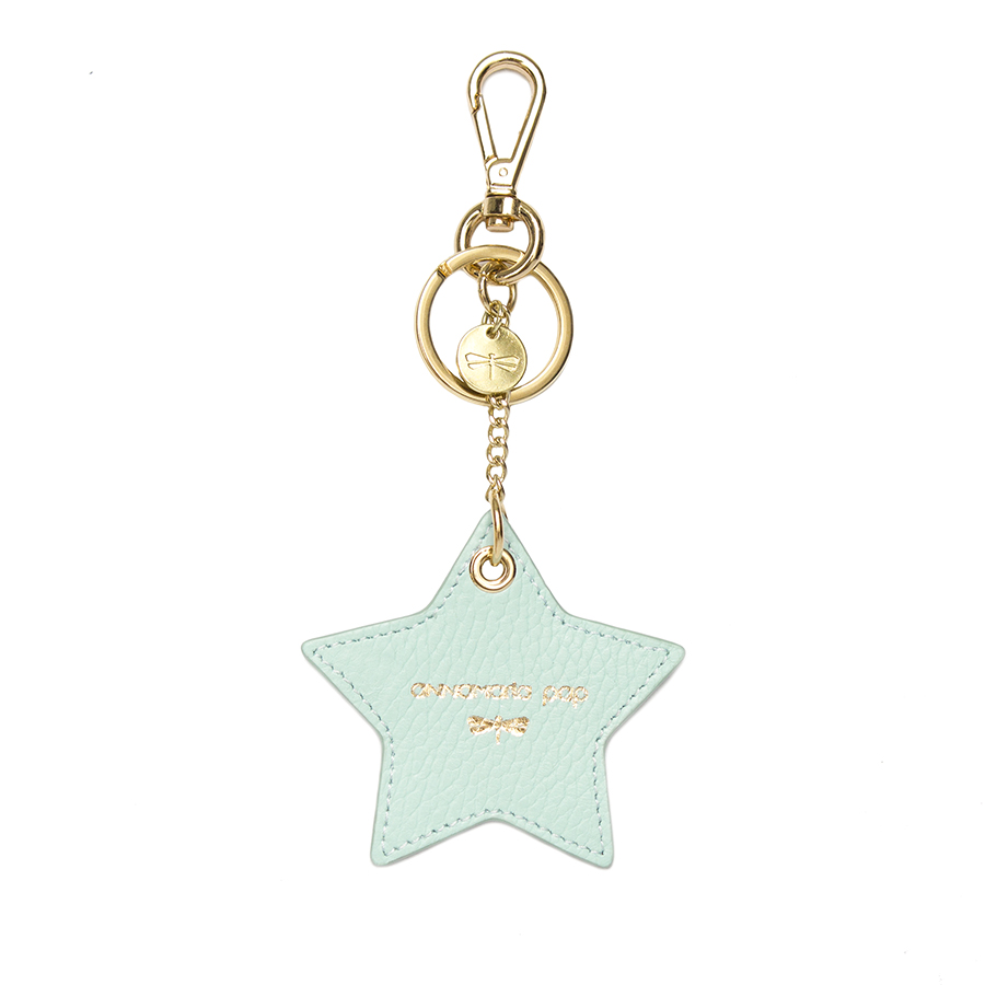 STAR Ocean leather charm