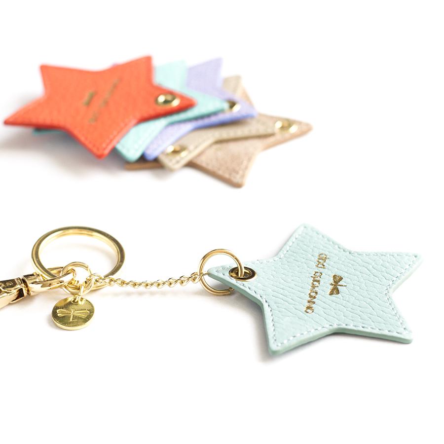 STAR Óceán bőr charm