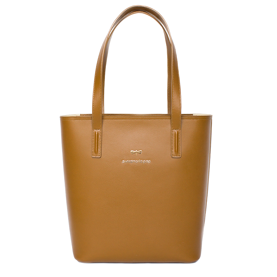 DORIS Cinnamon leather bag