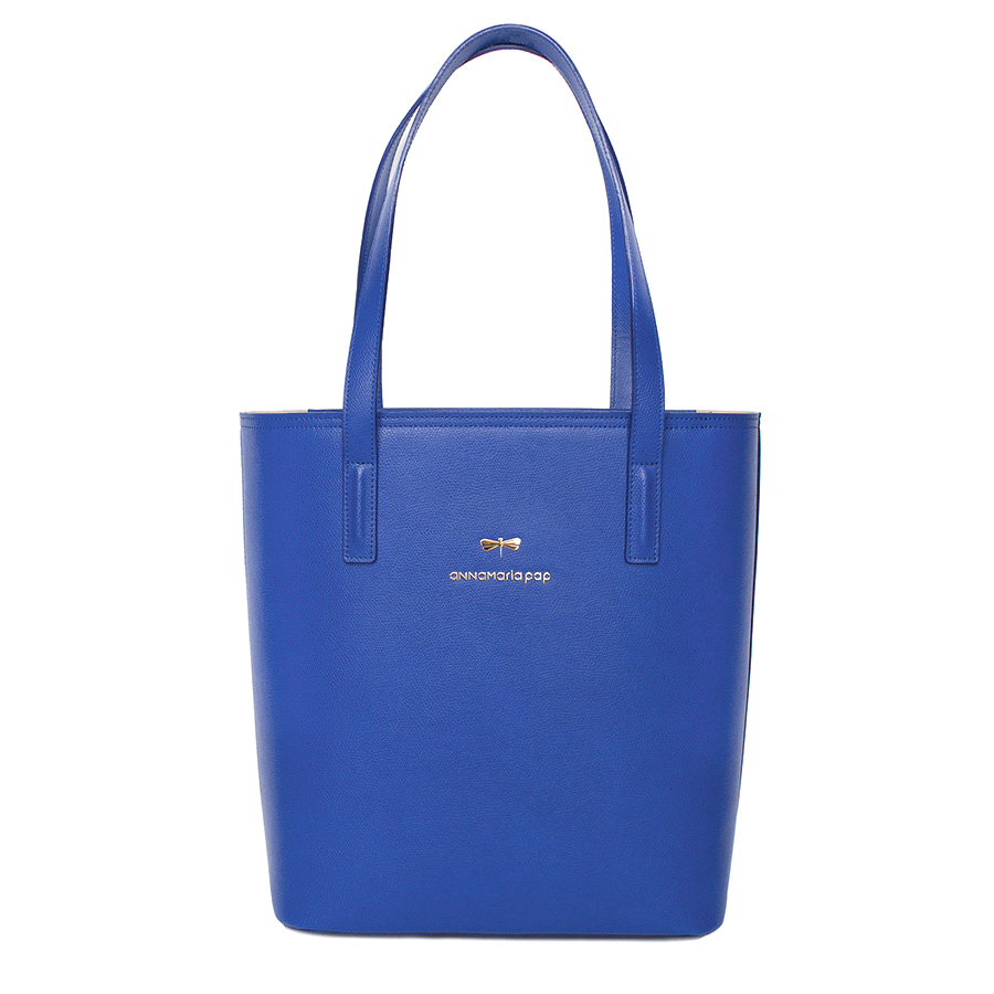 DORIS Royalblue leather bag
