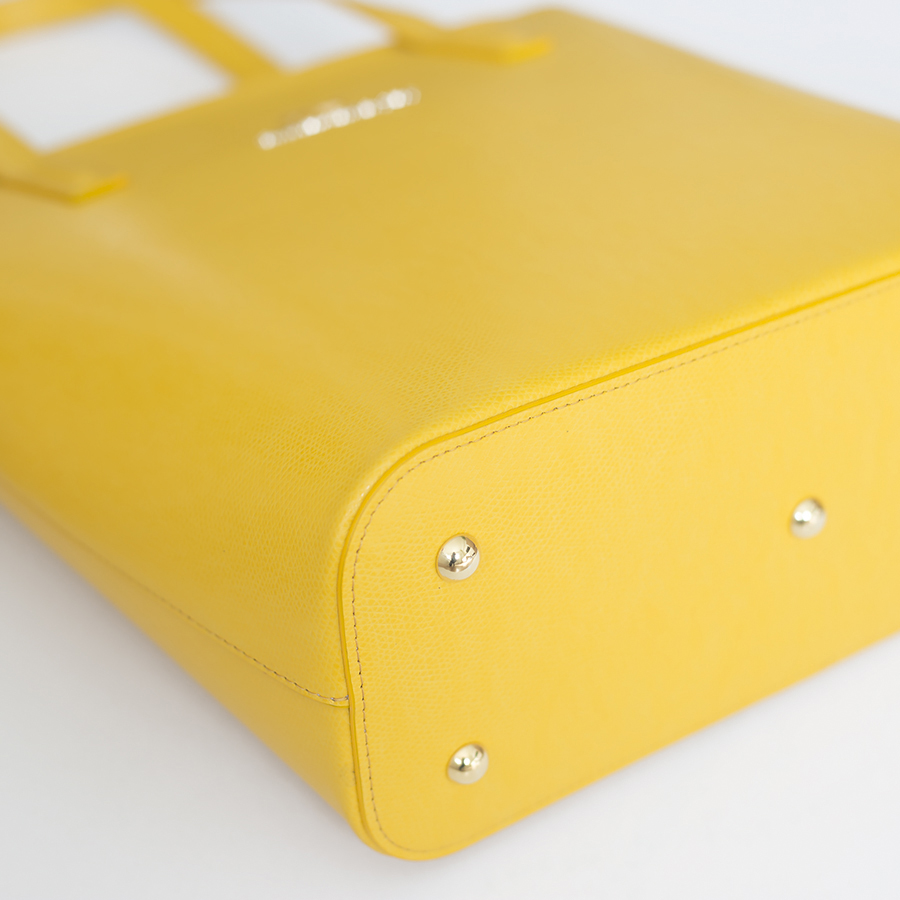 DORIS Sunshine leather bag