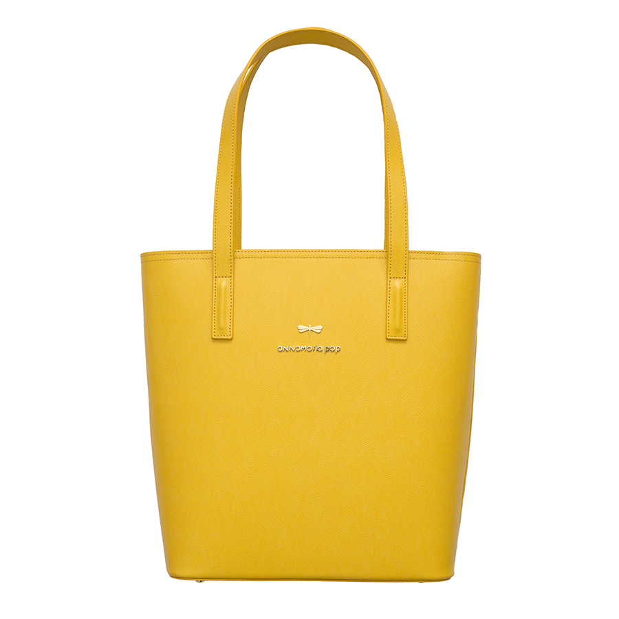 DORIS Sunshine leather bag