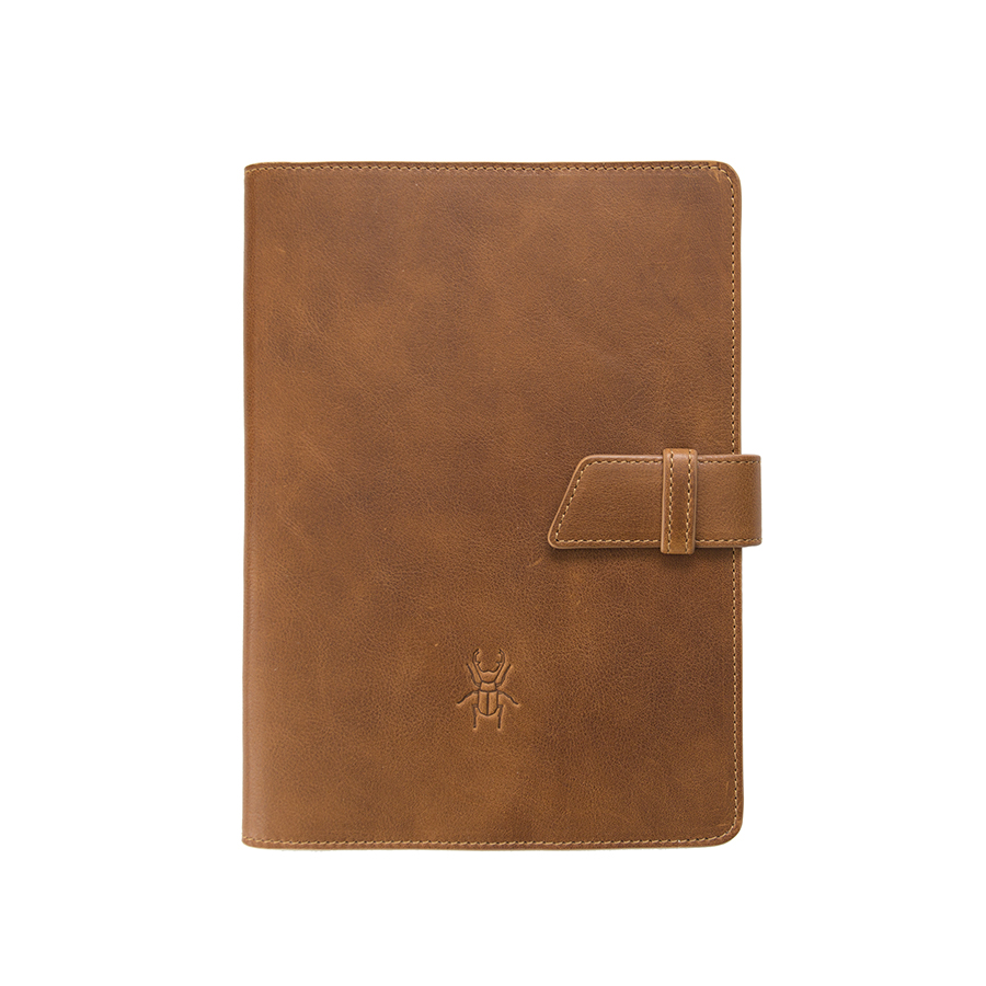 FRIDAY Brown man leather case
