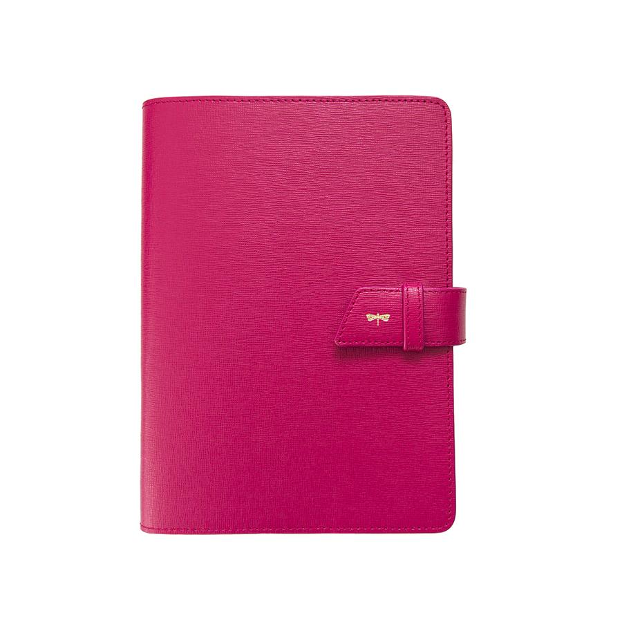 FRIDAY Raspberry leather case
