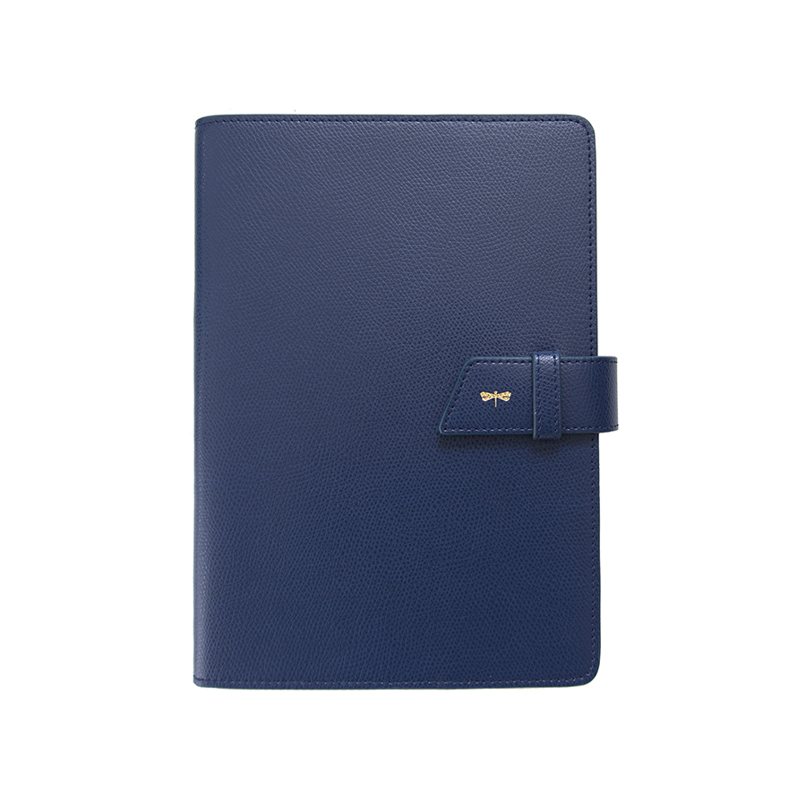 FRIDAY Navyblue leather case