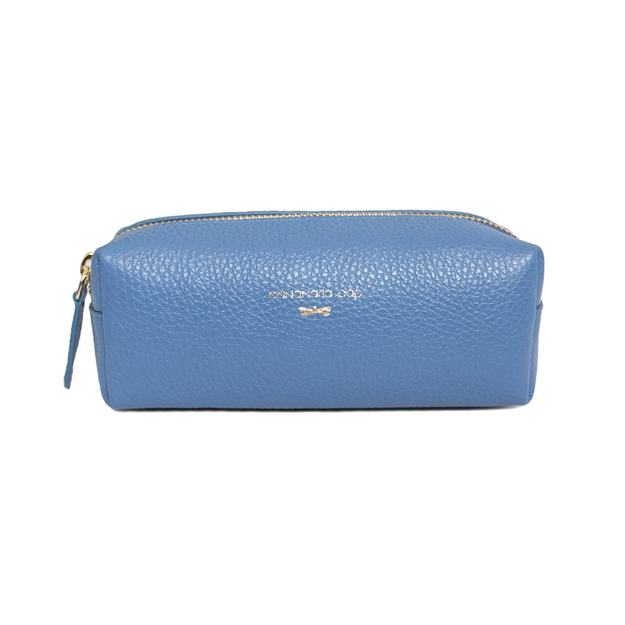 GWEN Skyblue leather beauty case