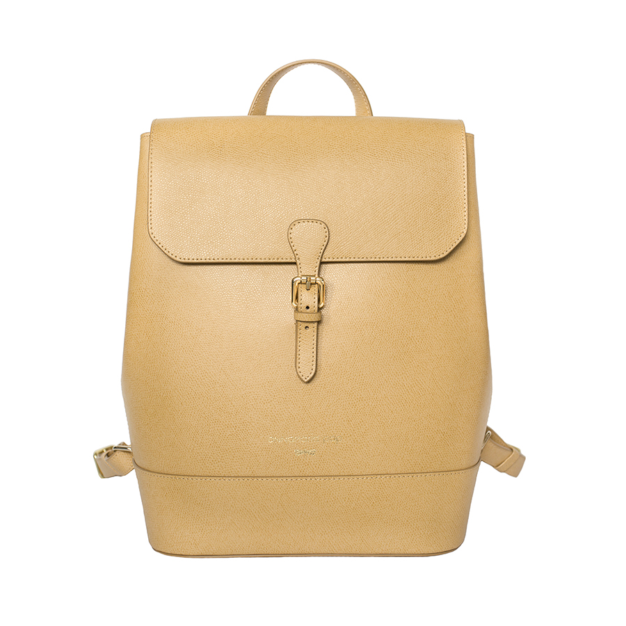 HALEY Bamboo leather backpack