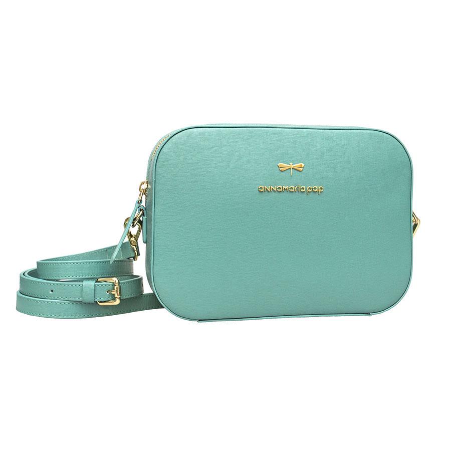KAREN Turquoise leather bag