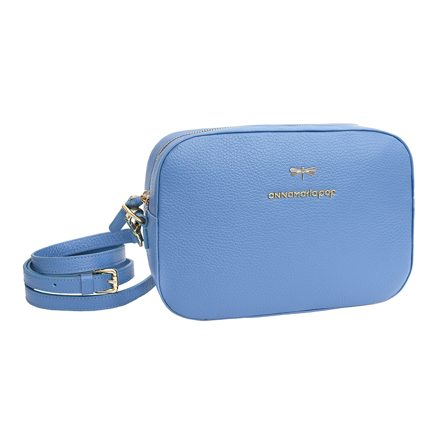 KAREN Skyblue leather bag