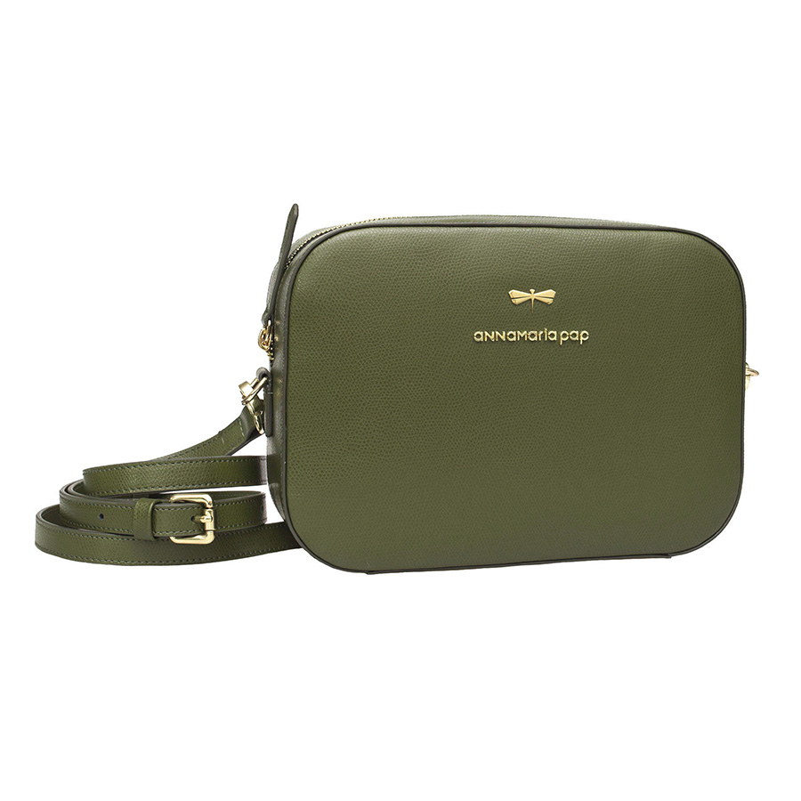 KAREN Oliva leather bag