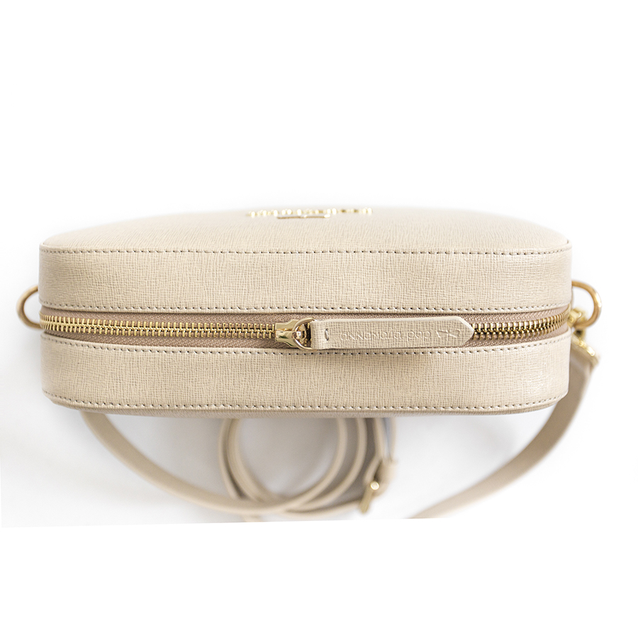 KAREN Beige leather bag