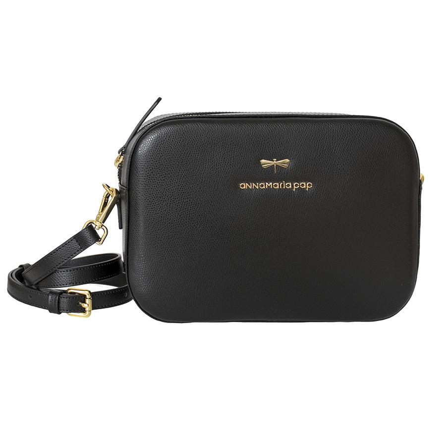 KAREN Black leather bag