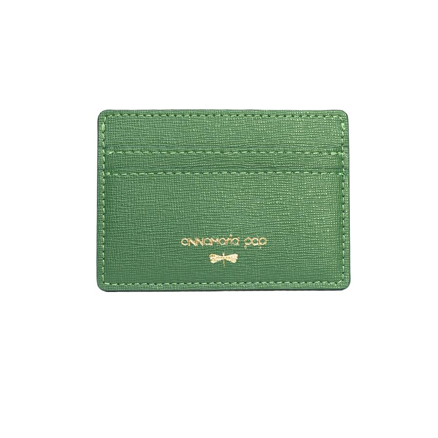 LIA Smaragdzöld kártyatartó