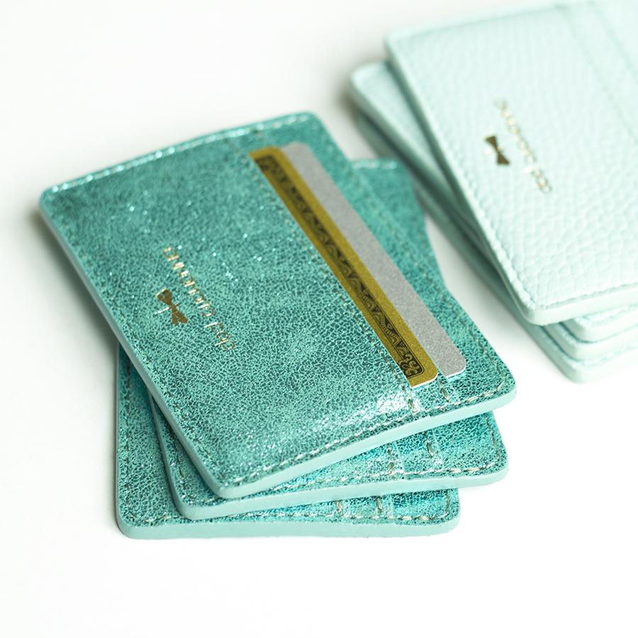 LIA Turquoise cardholder
