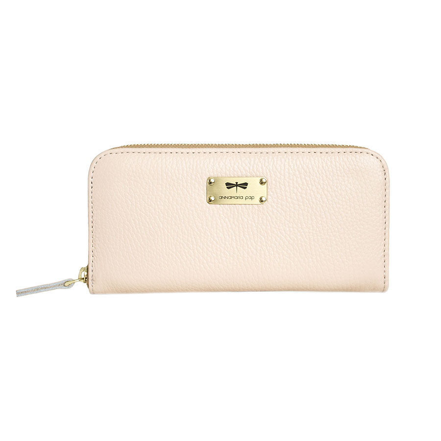 LILIAN Powderpink leather wallet