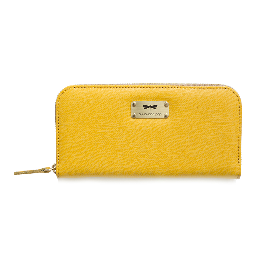 LILIAN Sunshine leather wallet