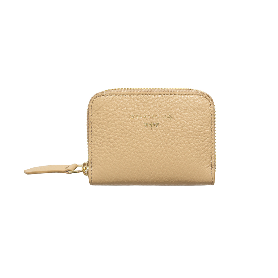 LISA Sand leather wallet