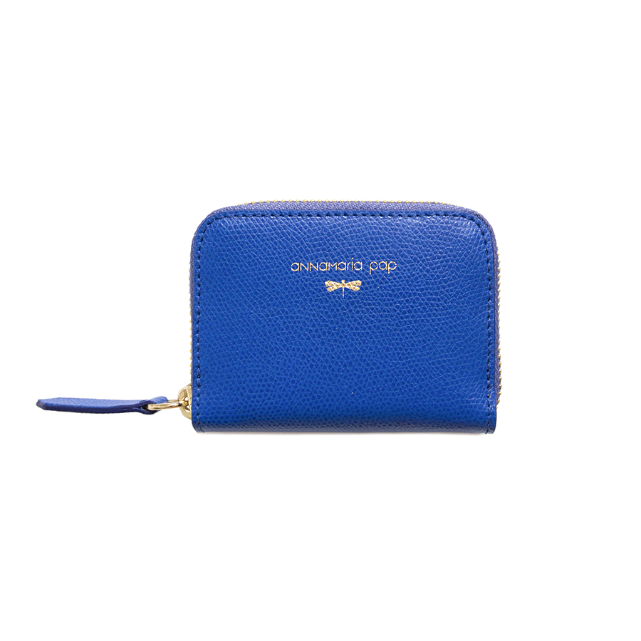 LISA Royalblue leather wallet