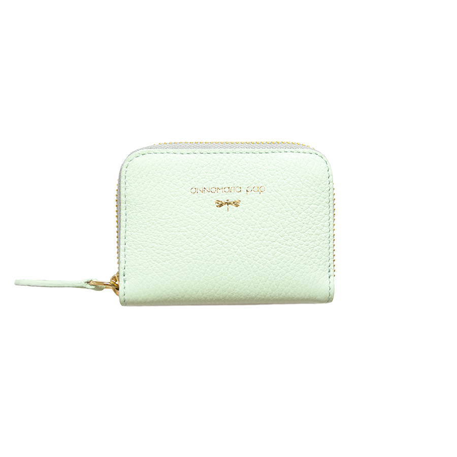 LISA Mint leather wallet