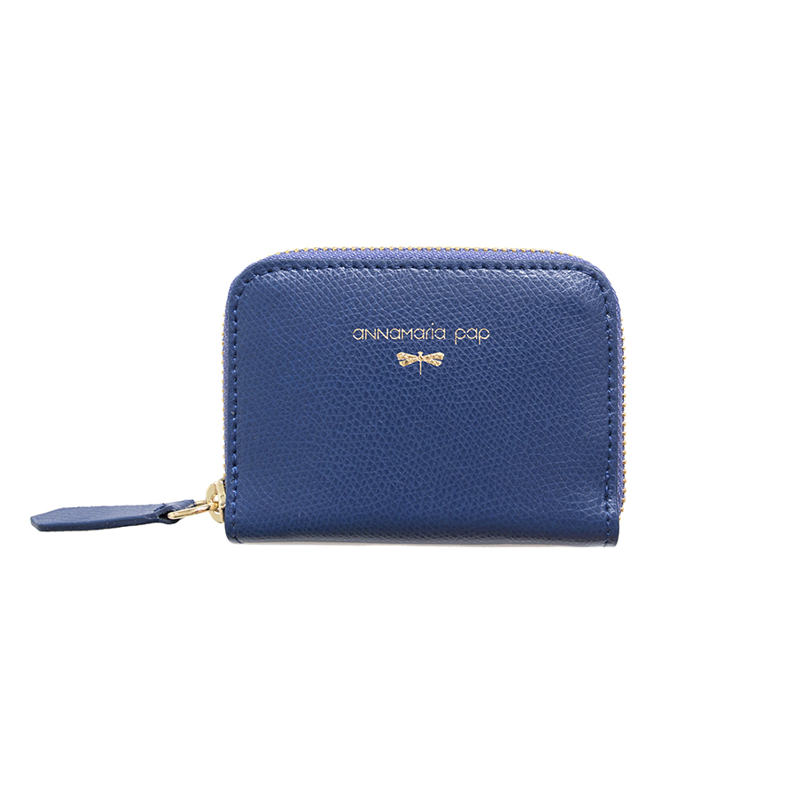 LISA Navyblue leather wallet