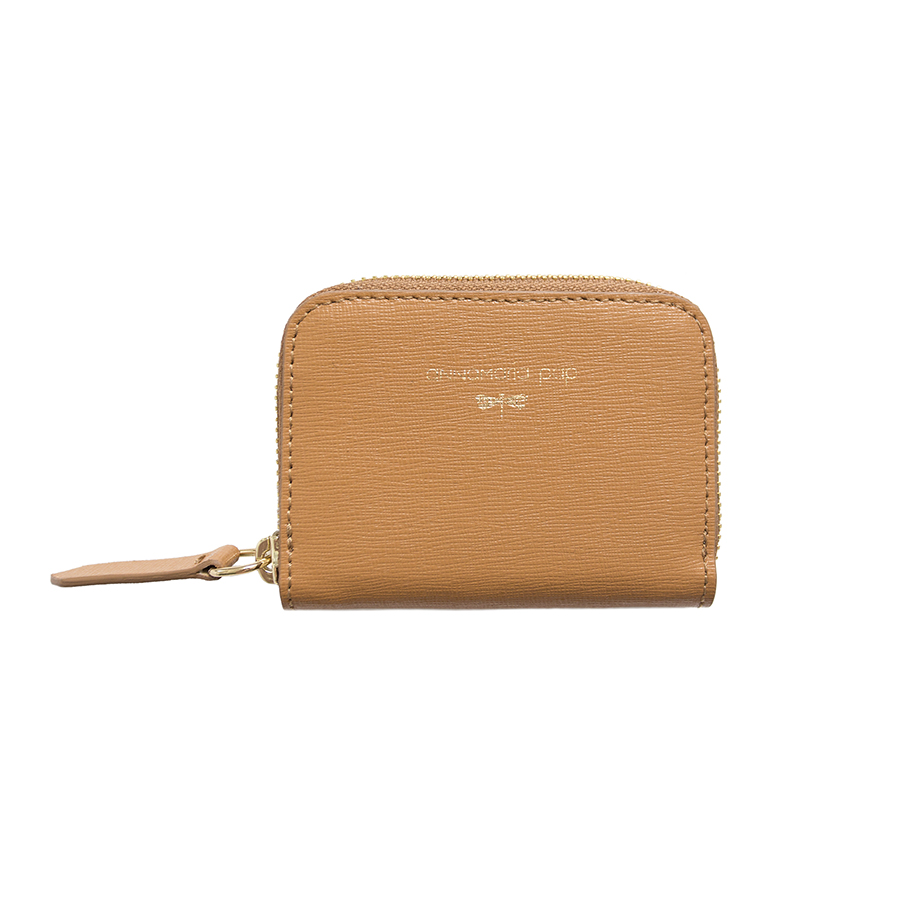 LISA Cognac leather wallet