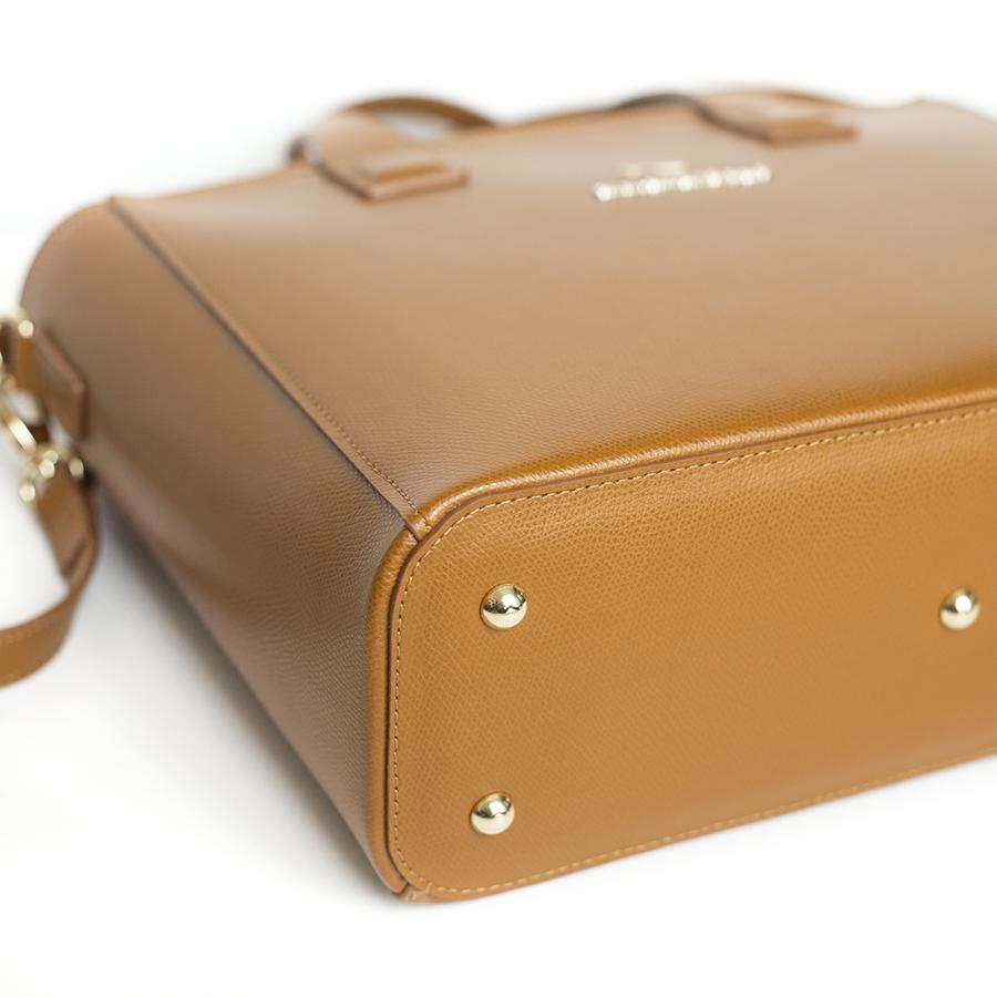 LORI Cinnamon leather handbag