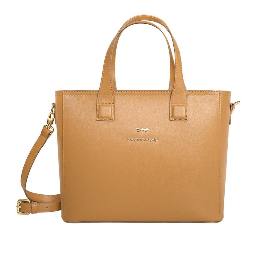 LORI Cognac handbag
