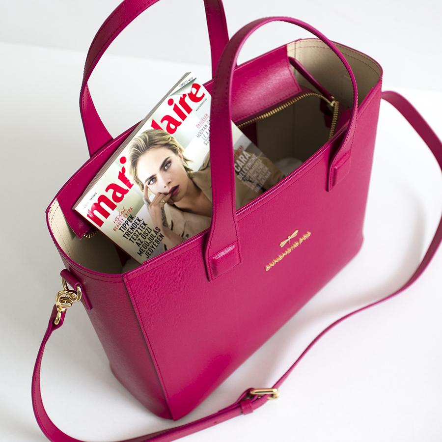 LORI Raspberry handbag