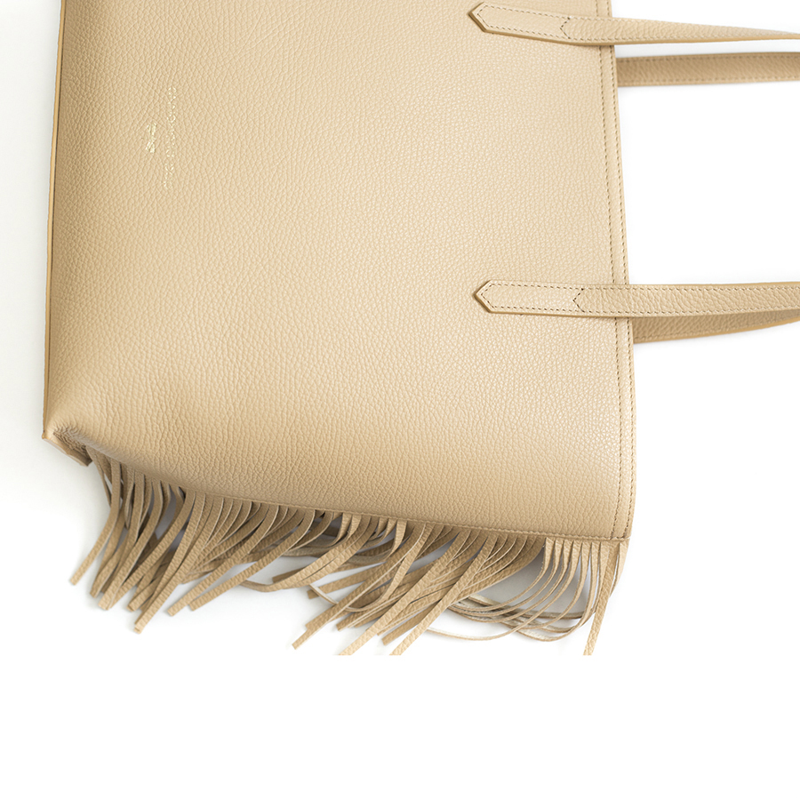 LUCY Sand leather bag