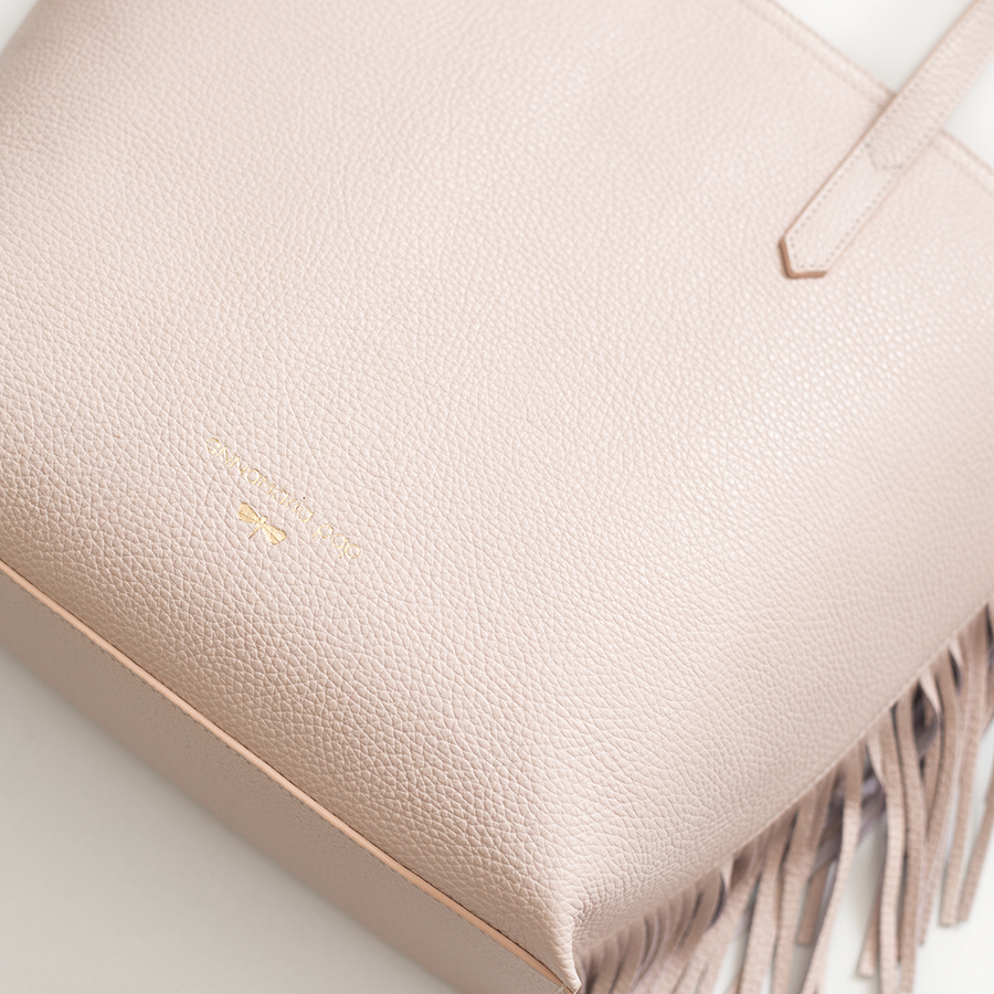 LUCY Powder leather bag