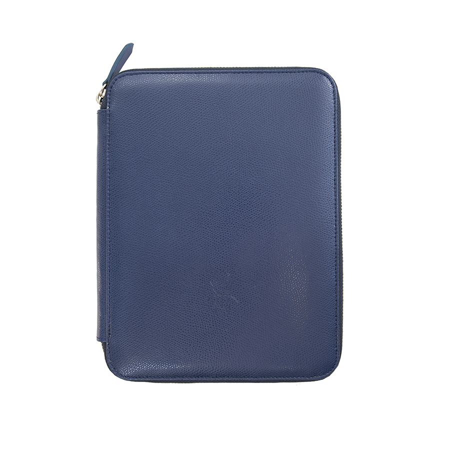 ARIA Navyblue leather case (smaller)