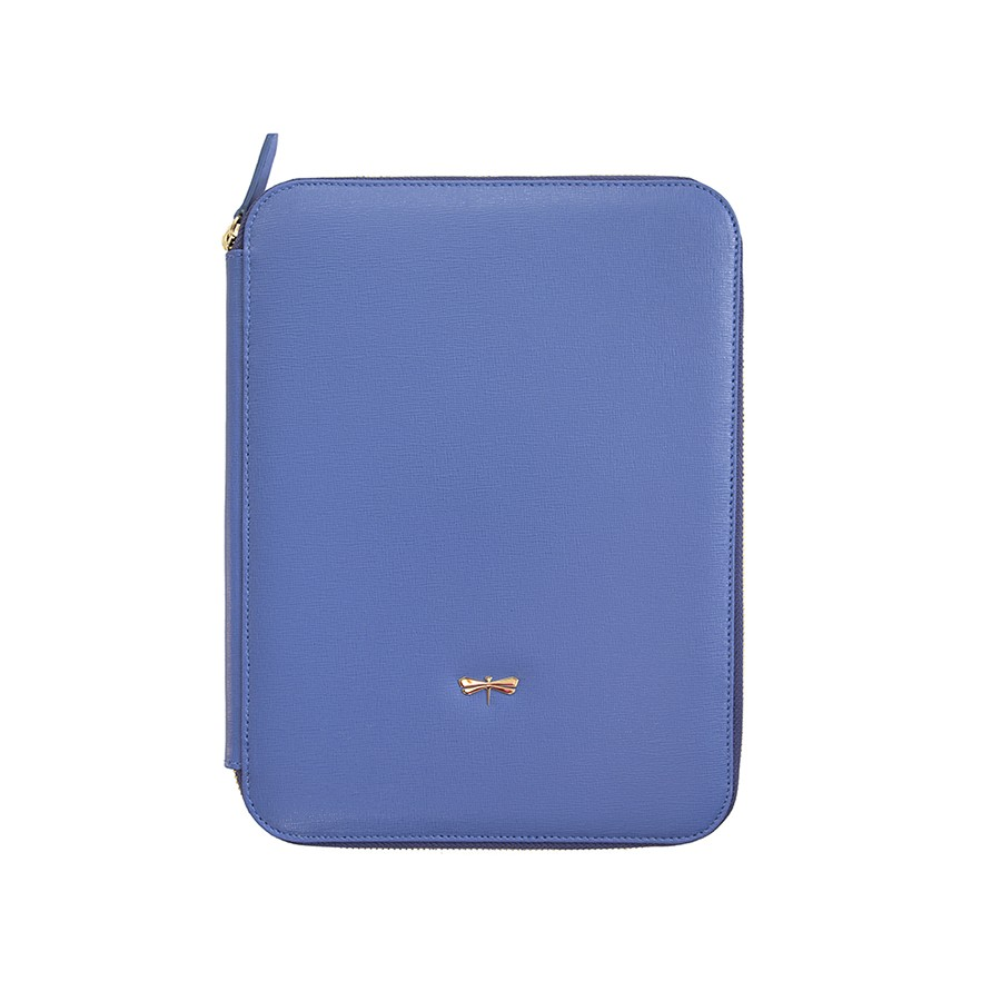 ARIA Plum blue leather case (smaller)