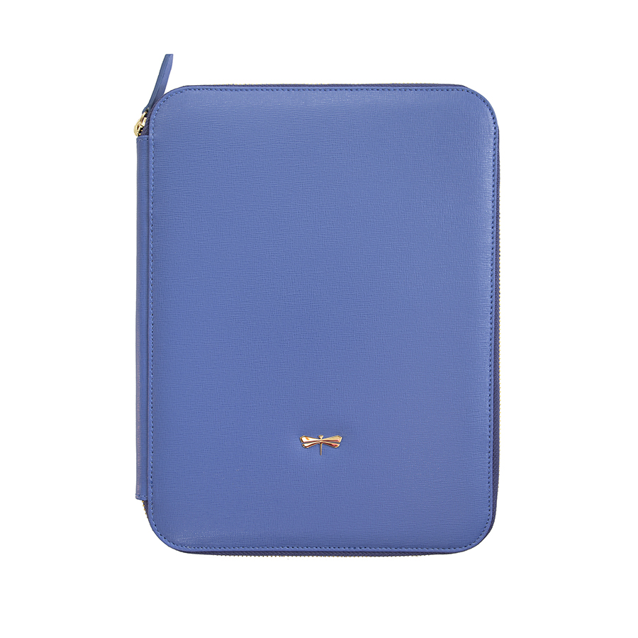 ARIA Plum blue leather case (normal)