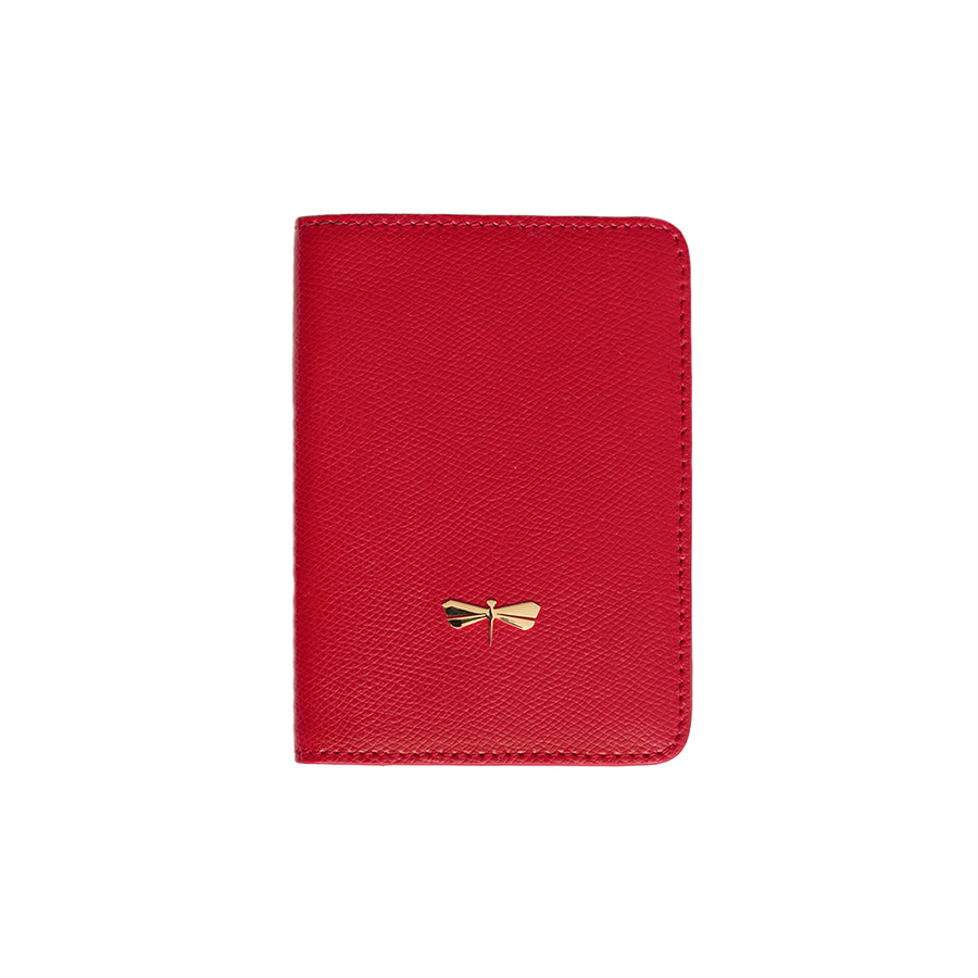 MONA Sour Cherry leather case