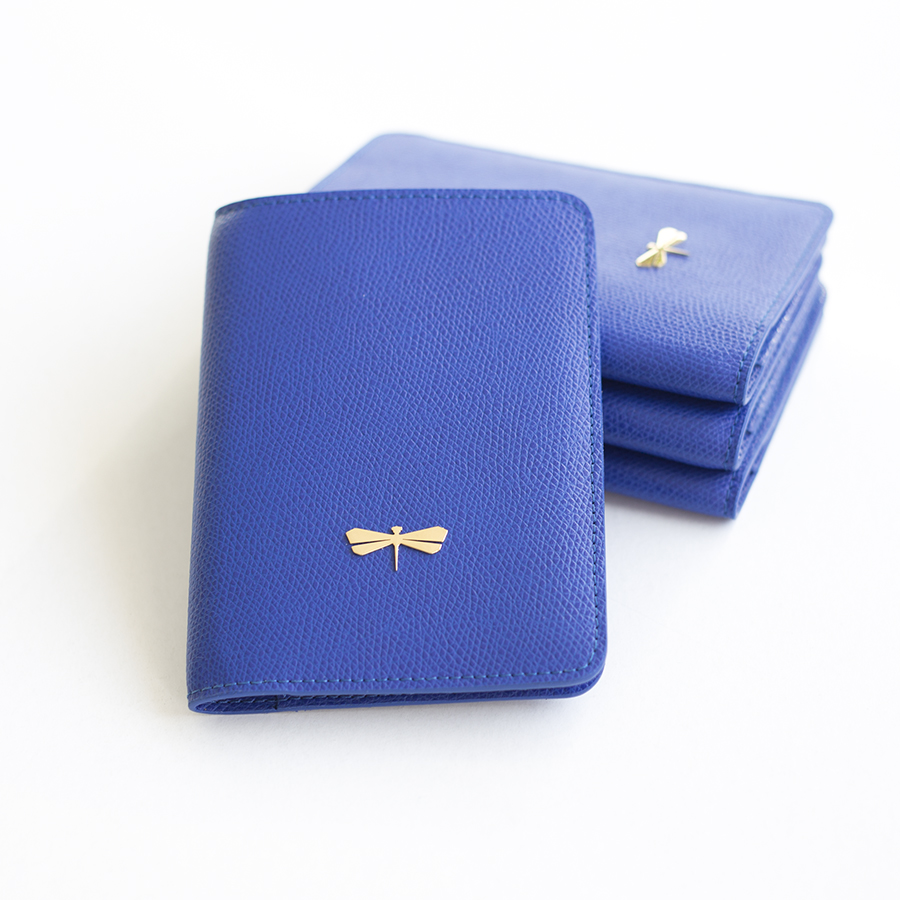 MONA Royalblue leather case