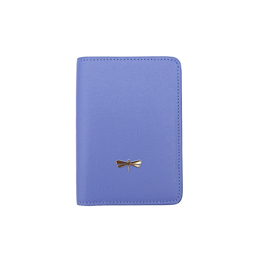 MONA Plum blue leather case