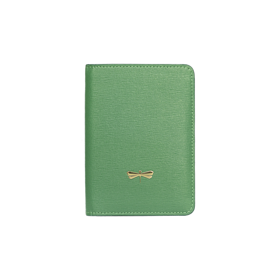 MONA Emerald leather case