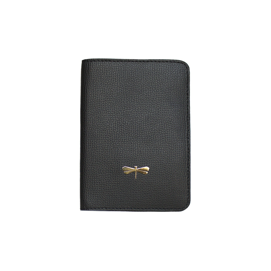 MONA Black leather case