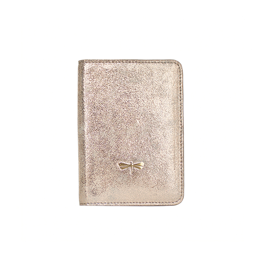 MONA Rose sparkling leather case