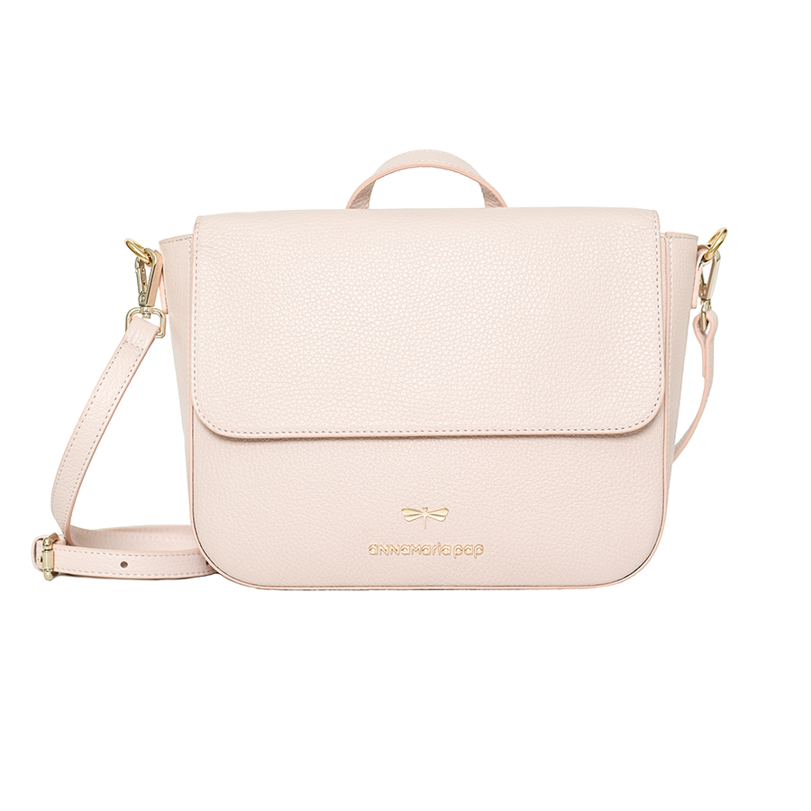 NINA Powder leather bag