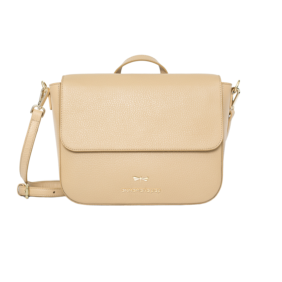 NINA Sand leather bag