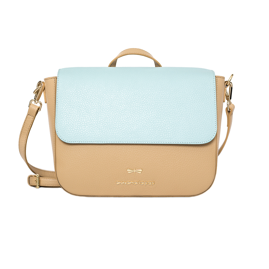 NINA Sand & Ocean leather bag